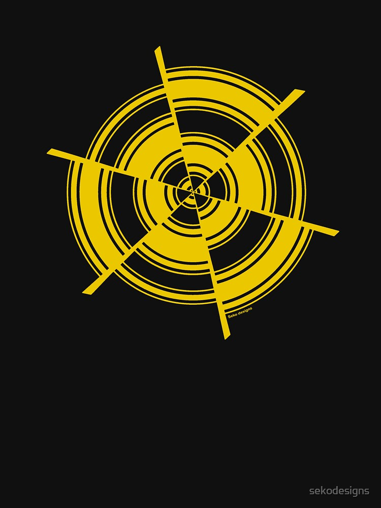 Mandala 28 Yellow Fever by sekodesigns