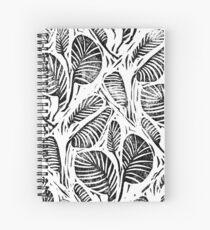 Cuaderno de espiral Jungla - Hojas tropicales