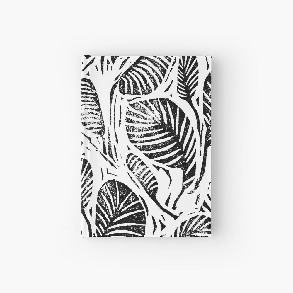 Dschungel - tropische Blätter Notizbuch