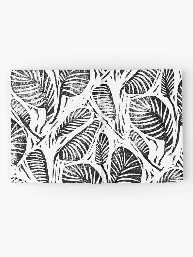Alternative Ansicht von Dschungel - tropische Blätter Notizbuch