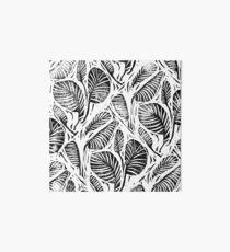 Dschungel - tropische Blätter Galeriedruck
