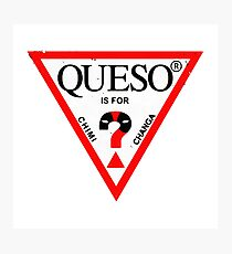 queso Photographic Print