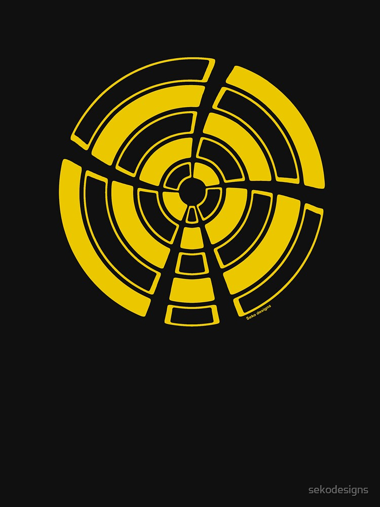 Mandala 25 Yellow Fever by sekodesigns
