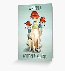 Devo Dogs Greeting Card