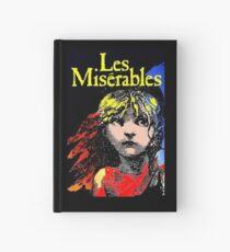 LES MISERABLES: Wiederhergestellter kolorierter Werbungsdruck Notizbuch