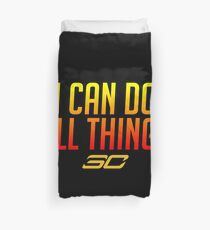 I can do all things - FIRED UP! #2 Duvet Cover
