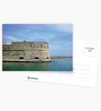 Crete Fort Postcards