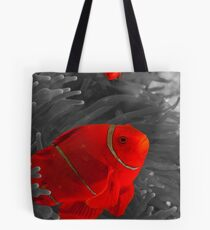 Spinecheek Anemonefish - selective colourisation Tote Bag