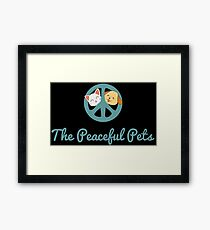 The Peaceful Pets Framed Print