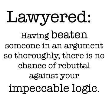 Lawyered definición de peggieprints