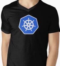 Kubernetes Men's V-Neck T-Shirt