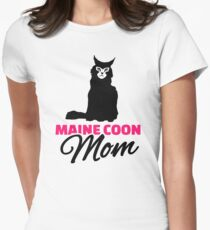 Maine coon cat mom T-Shirt