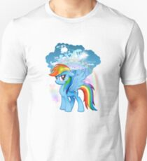 my little pony rainbow dash cloudsdale T-Shirt