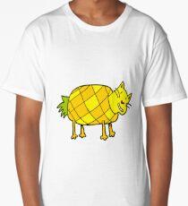 Pineapple Cat Long T-Shirt