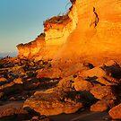 0473 Fallen rocks - Anglesea by Hans Kawitzki