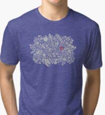 I give you my heart! Tri-blend T-Shirt