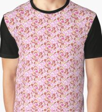 Abstraction of pink peonies Graphic T-Shirt