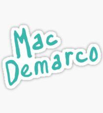 Mac Demarco Drawn Font Sticker