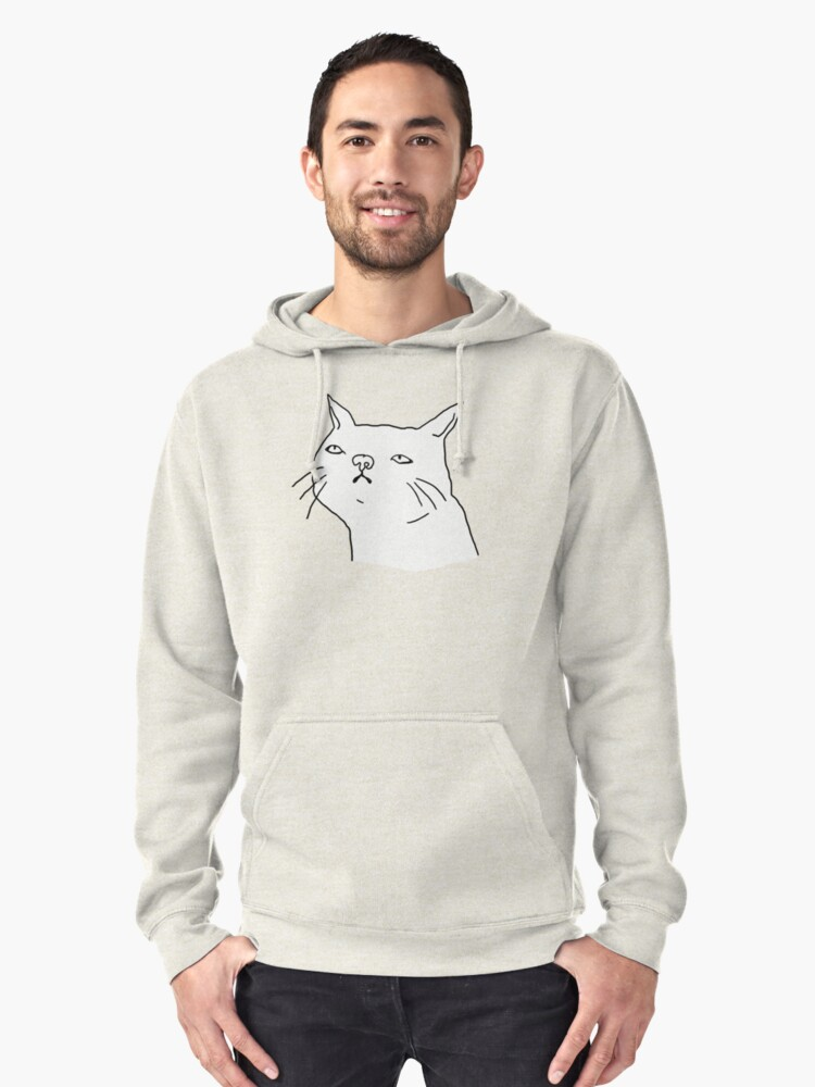 Ugly Cats - Harley Pullover Hoodie Front