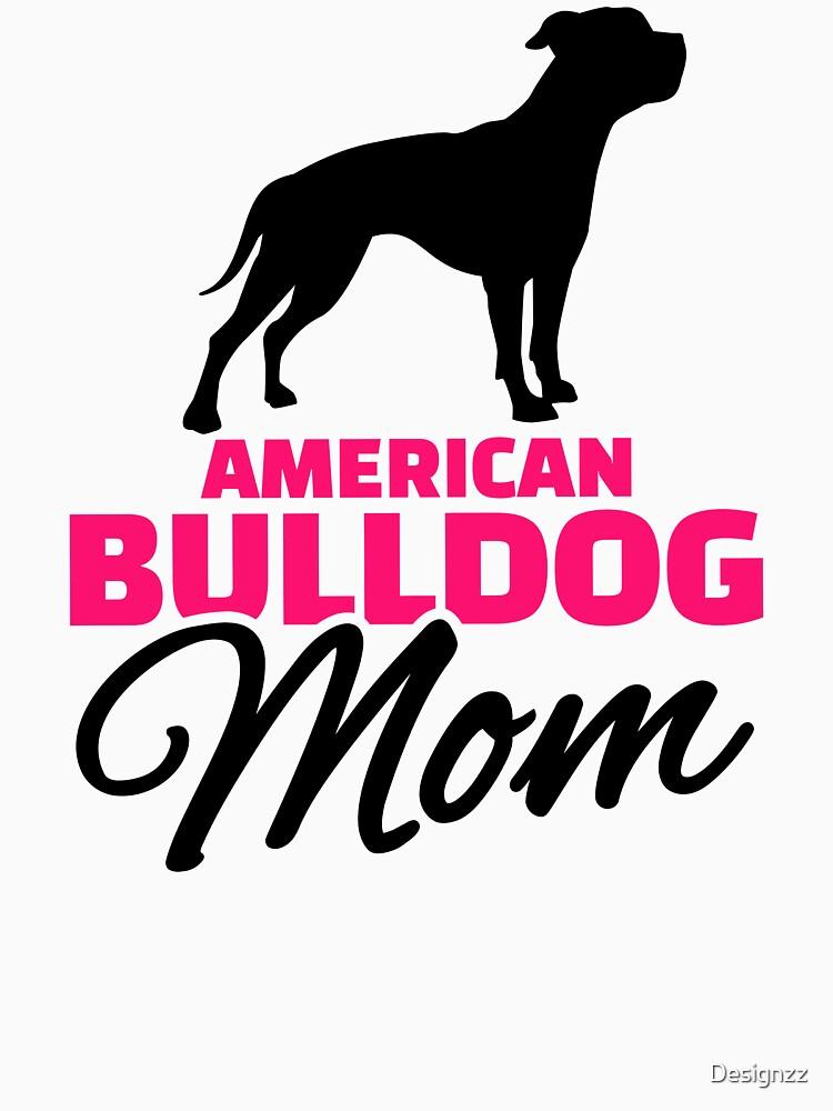 American Bulldog Mom by Designzz