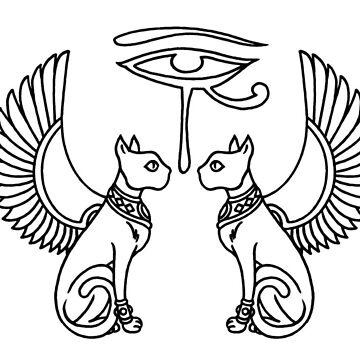 EYE OF HORUS by blasphemyth
