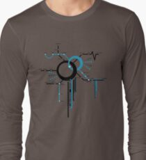 LIGHTSPEED STATION (The Future of Travel) - blue T-Shirt