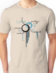 LIGHTSPEED STATION (The Future of Travel) - blue Unisex T-Shirt