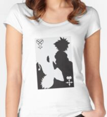 Light and Darkness KH Women's Fitted Scoop T-Shirt