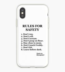 FNaF-Rules iPhone Case