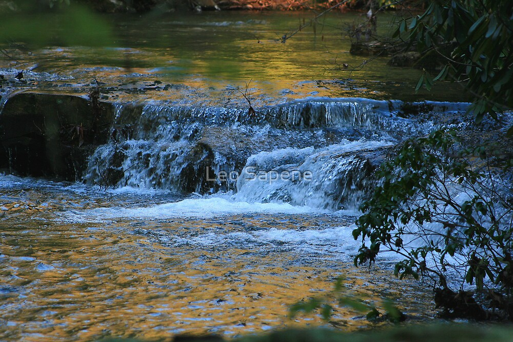 Water and colors by Leo Sapene