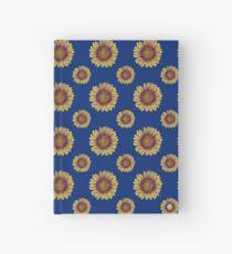 Swirly Sunflower Hardcover Journal