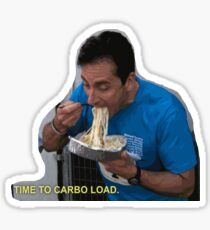 Micheal Carboloading Sticker