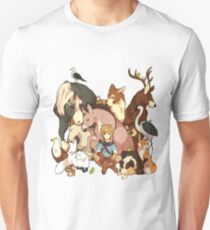 Zelda's Animals Unisex T-Shirt