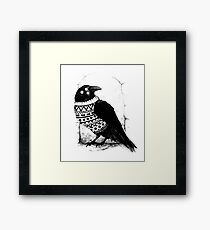 Foresight of a cold winter Framed Print