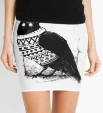 Foresight of a cold winter Mini Skirt