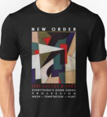 New order Factus 8 design Joy Division  T-Shirt