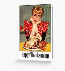 A Very Vintage Happy Thanksgiving Greeting Card