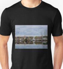 Five Churches of Mahone Bay Lunenburg County Nova Scotia Canada (view large) Unisex T-Shirt