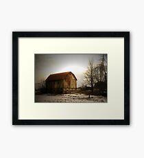 Quiet Barn Framed Print