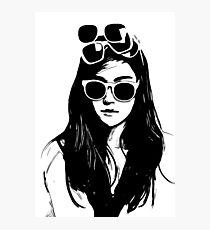 Not Enough Sunglasses Photographic Print