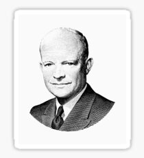 President Dwight Eisenhower Graphic Sticker