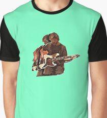 Vulf Guitar Graphic T-Shirt