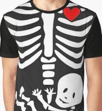 Skeleton Baby Skull Baby Graphic T-Shirt