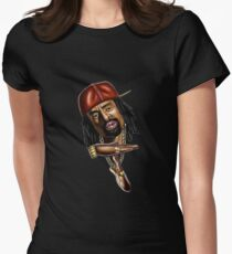 MAC DRE THIZZ MERCHANDISE Womens Fitted T-Shirt