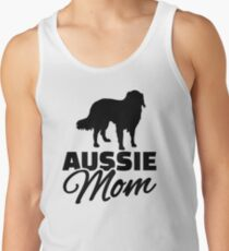 Aussie Australian shepherd Mom Tank Top