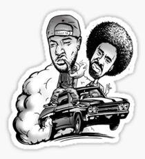 THA JACKA & MAC DRE MOBBIN IN PEACE MERCHANDISE Sticker