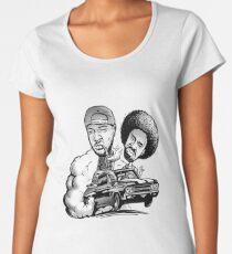 THA JACKA & MAC DRE MOBBIN IN PEACE MERCHANDISE Women's Premium T-Shirt