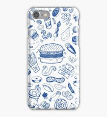 Fat food! iPhone Case/Skin