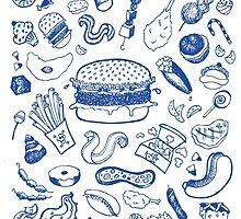 Fat food! by Cécilia Leroux