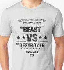 Beast VS Destroyer T-Shirt